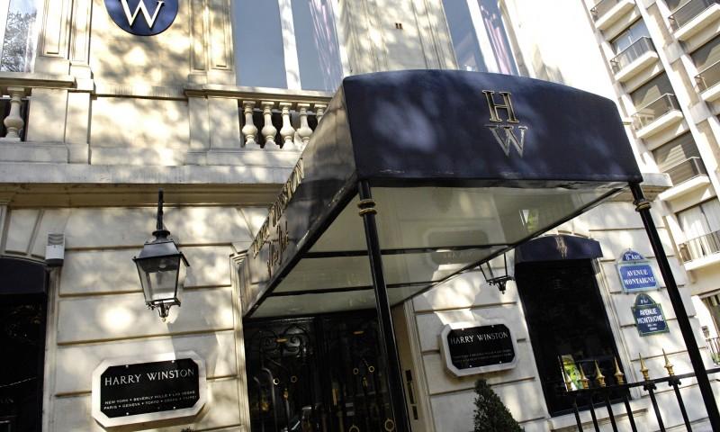 Один из ограбленных магазинов ювелирного дома Harry Winston