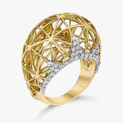 Золотое кольцо Liberte от Ivanka Trump