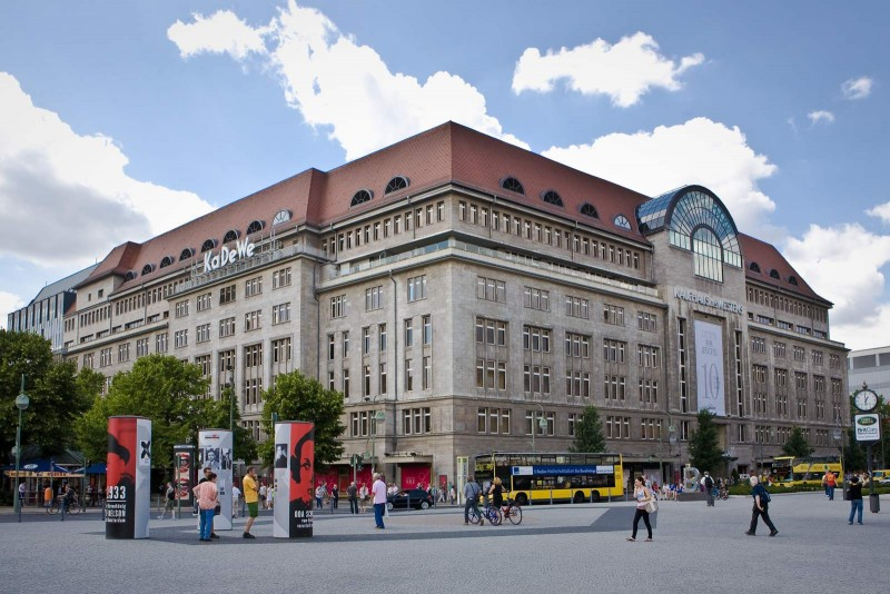 Универмаг KaDeWe в Берлине