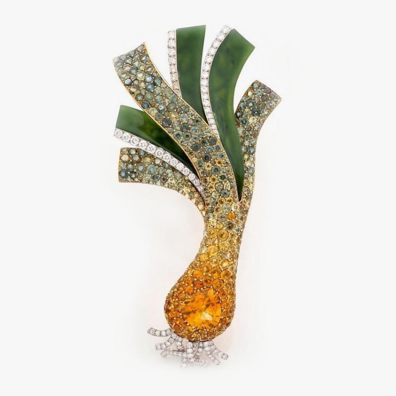 Брошь с бриллиантами от Lorenz Bäumer
