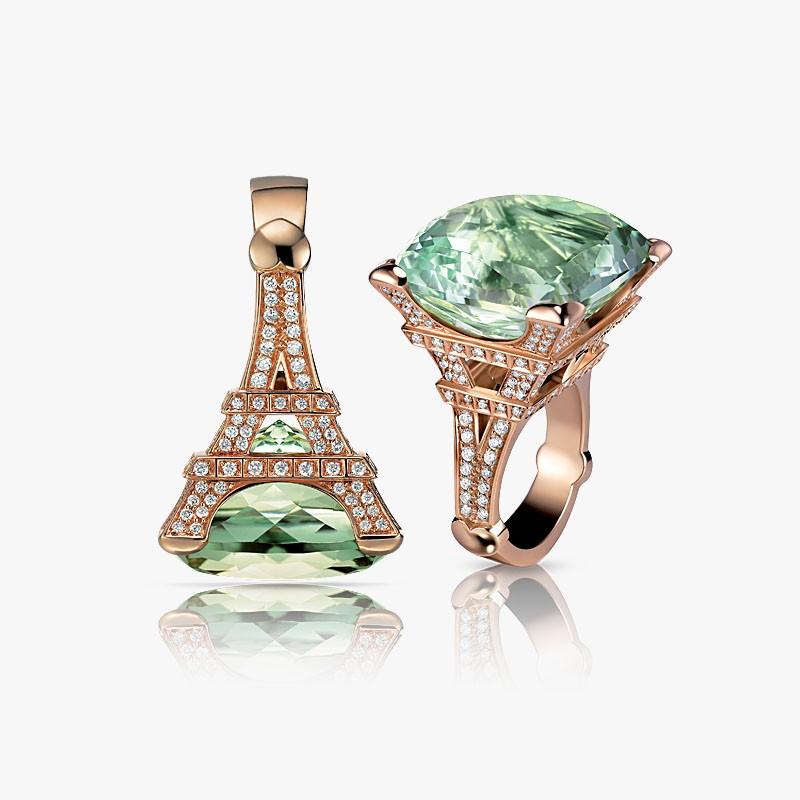 Золотое кольцо от Pasquale Bruni