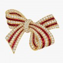 Van Cleef and Arpels gold brooch