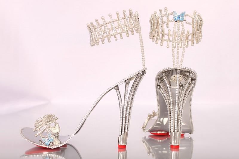 Туфли Princess Constellation, на базе которых была создана эксклюзивная пара для Бейонсе