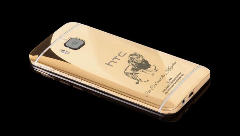 HTC One M9, посвященный льву Сесилу, от Goldgenie