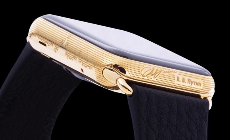 Apple Watch от Caviar, посвященные Путину В.В.