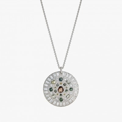Подвеска с необработанными алмазами из коллекции Talisman