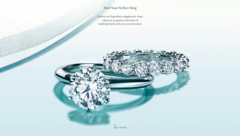 Приложение Tiffany Engagement Ring Finder