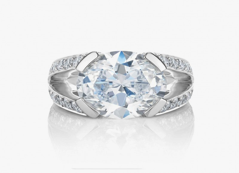 Обручальное кольцо кольцо Annabel с бриллиантами из коллекции 1888 Master Diamonds