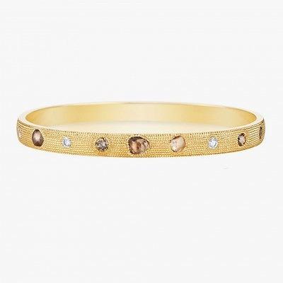 Браслет с необработанными алмазами и бриллиантами из коллекции Talisman