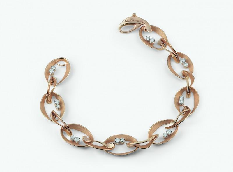 Золотой браслет с бриллиантами из коллекции Dune