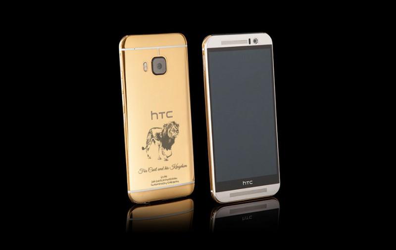 Goldgenie выпустили HTC One M9 с изображением льва Сесила