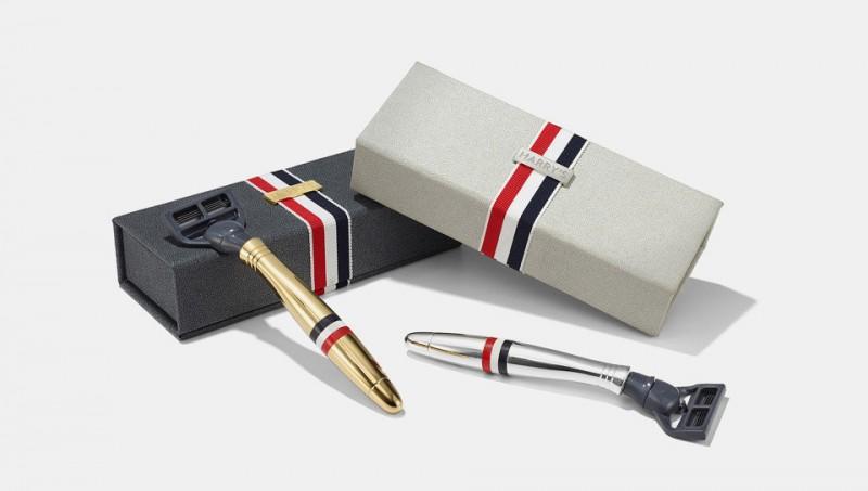 Эксклюзивная бритва предлагается в золотом и серебряном варианте