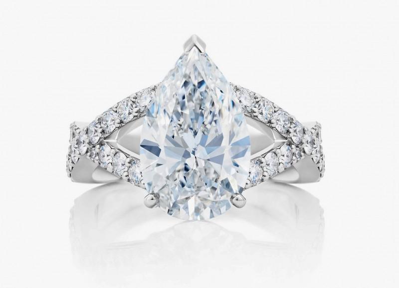 Кольцо Infinity с бриллиантами из новой коллекции De Beers 1888 Master Diamonds