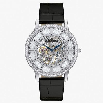 Часы Master Ultra Thin Squelette из белого золота с бриллиантами