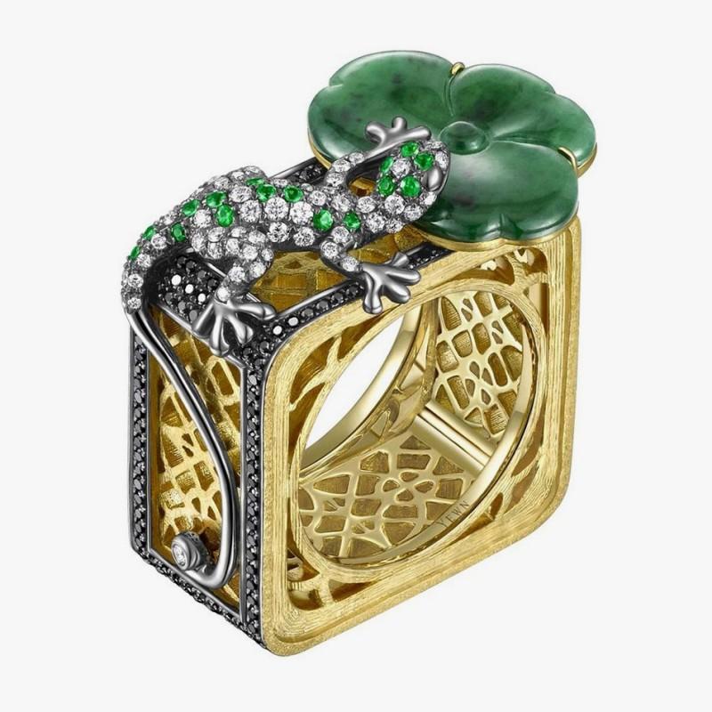 Кольцо от Yewn из коллекции Floral Lattice