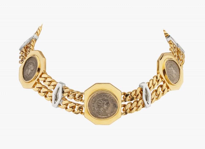 Золотое колье Bulgari