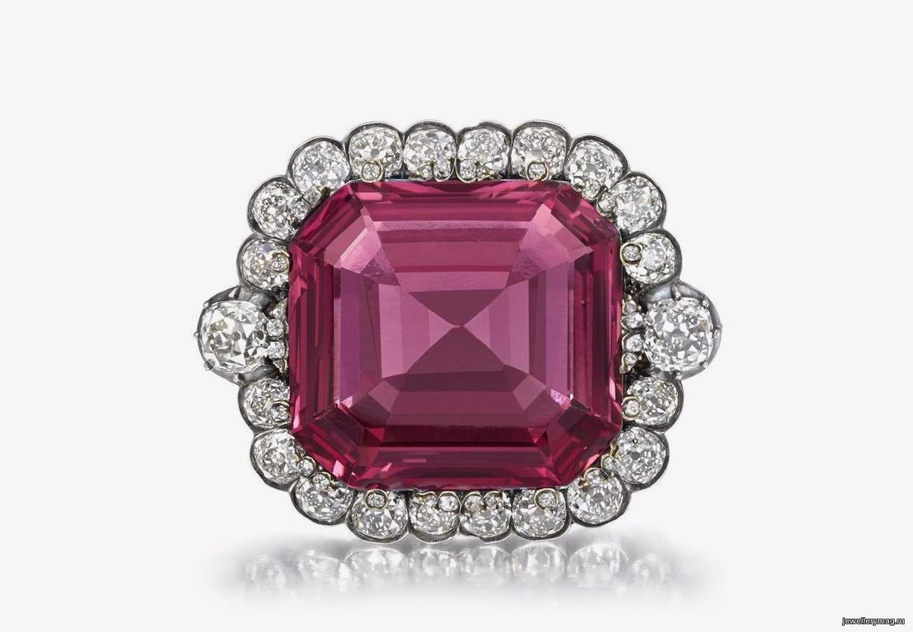 Шпинель Хоупа установила новый рекорд цены — <b>Jewellery</b> Mag