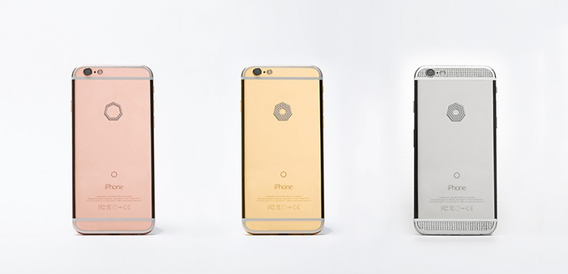 iPhone 6S Diamonds в версиях Small ($ 9 895), Large ($ 11 895 - $ 12 295) и Select ($ 49 995)