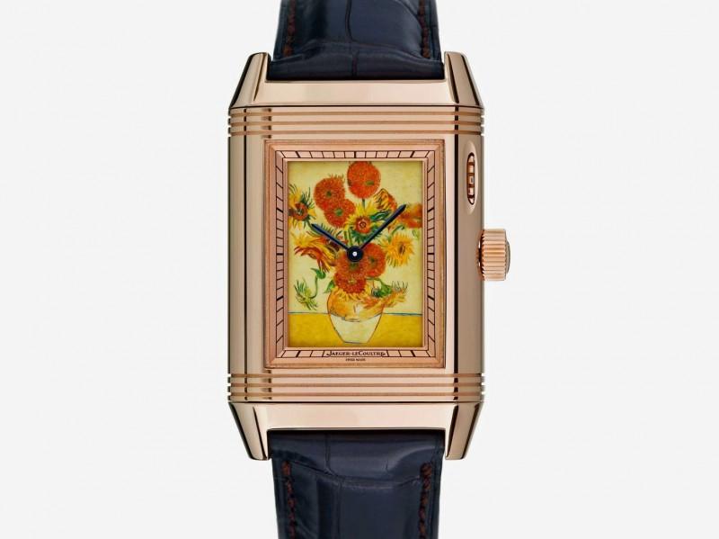 Часы Reverso à Eclipse с подсолнухами Ван Гога от Jaeger-LeCoultre