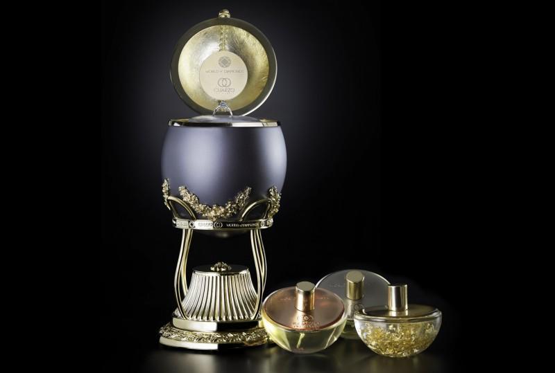 Самая дорогая коллекция ароматов от World of Diamonds и Cuarzo The Circle