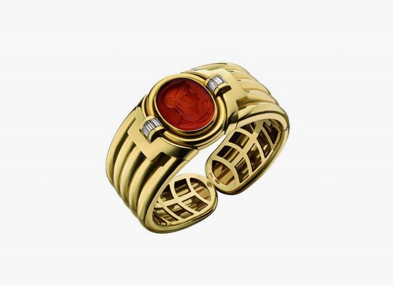 Золотой браслет Bulgari