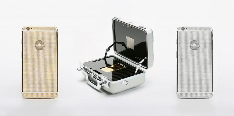 Lux iPhone 6S Plus Diamond Omni в золоте и платине стоимостью $ 199 995