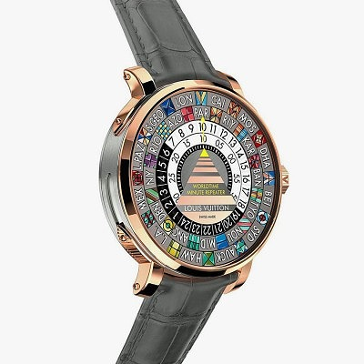 Часы Escale Worldtime Minute Repeater от Louis Vuitton