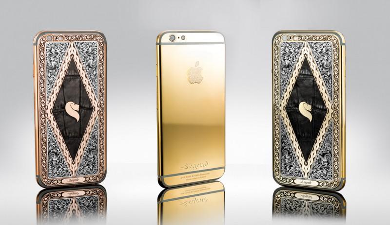 iPhone 6S в версиях Classique и Momentum от Legend