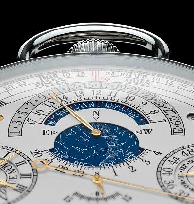 Астрономический и другие календари на циферблате Ref. 57260 от Vacheron Constantin