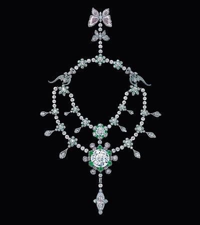 Колье Heritage in Bloom от Уоллеса Чана с бриллиантами общим весом 507 карат