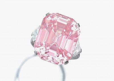 Бриллиант Graff Pink стоимостью 46 миллионов долларов