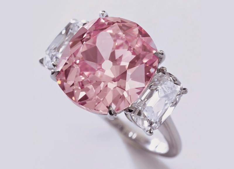 Бриллиант Historic Pink весом 8,72 карата
