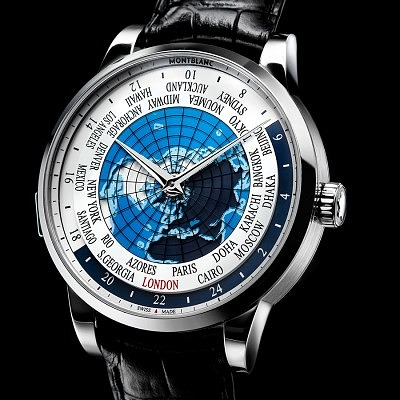 Часы Orbis Terrarum от Montblanc