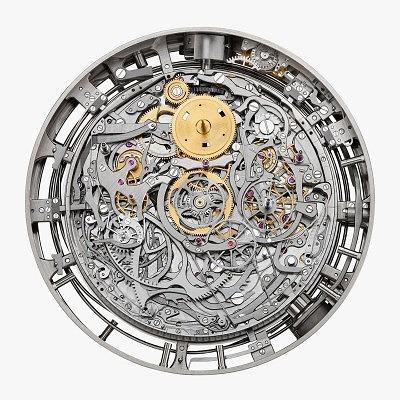 Внутреннее устройство единственных в своем роде часов Ref. 57260