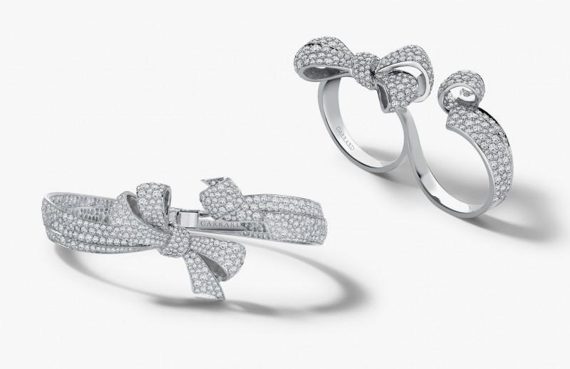 Браслет и двойное кольцо от Garrard