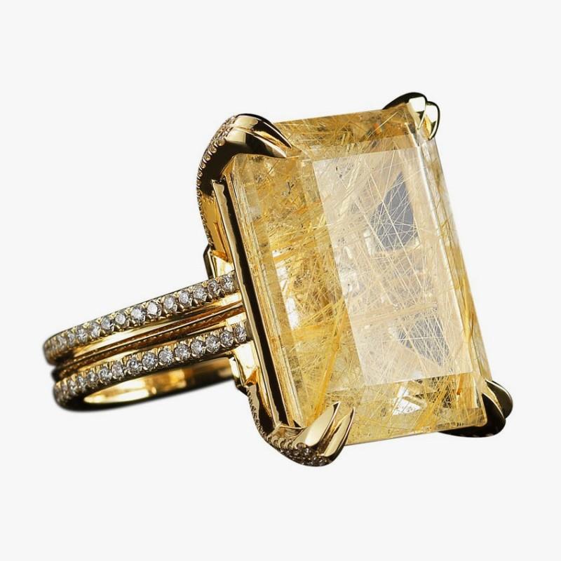 Коктейльное кольцо от Alexandra Mor