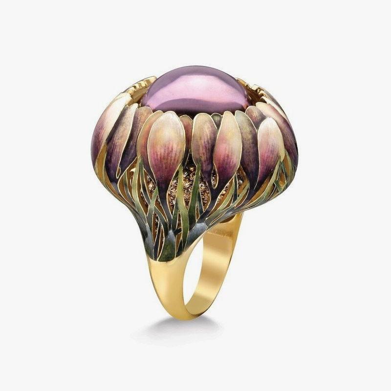 Кольцо «Крокусы» от Ильгиза Фазулзянова