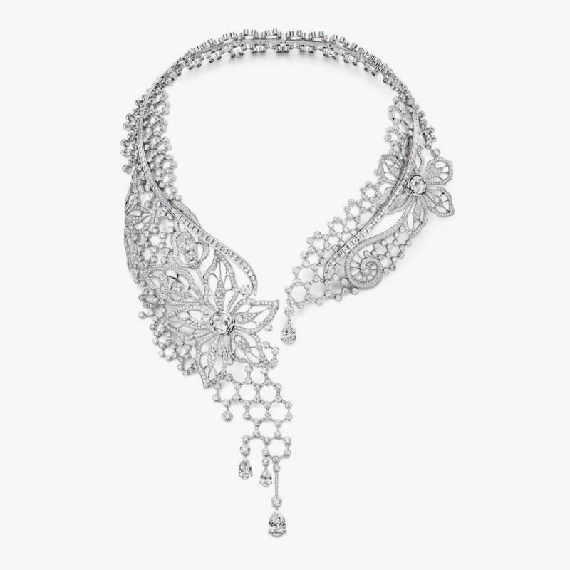 Бриллиантовое колье от Piaget