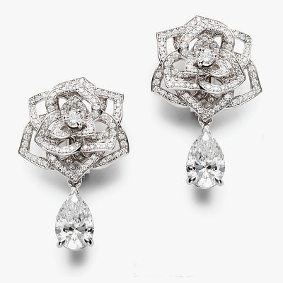 Серьги с бриллиантами от Piaget