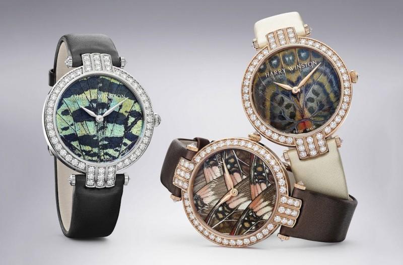 Часы из коллекции Premier Precious Butterfly от Harry Winston