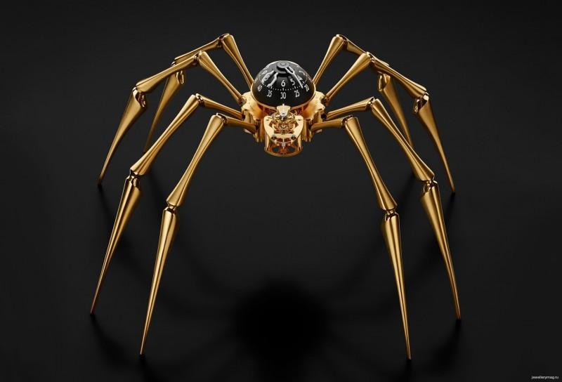 Часы Arachnophobia от MB&F