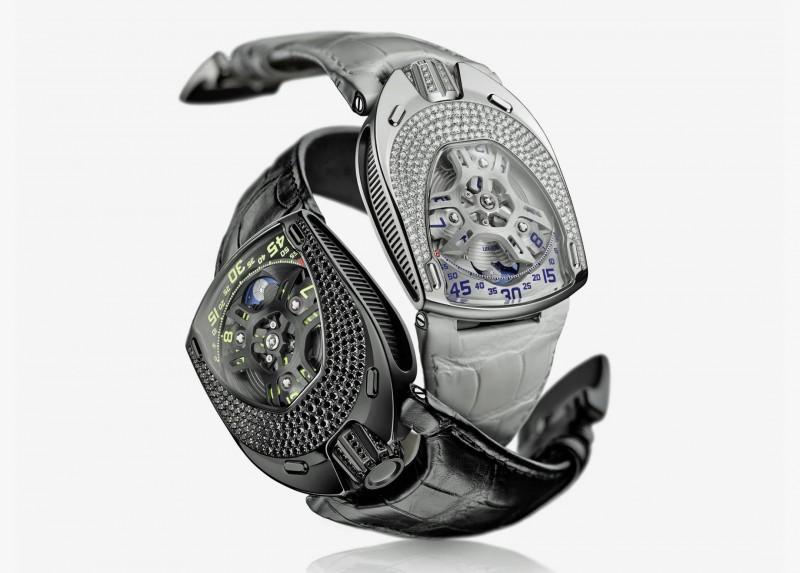 Женские часы UR-106 Lotus от Urwerk