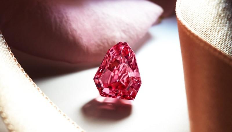 Красный бриллиант Argyle Spectre