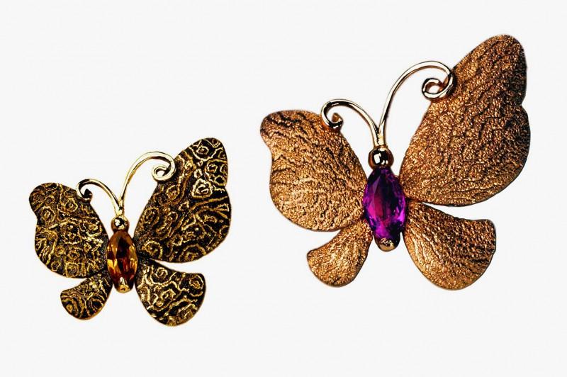 Драгоценные бабочки ювелирного дизайнера Алекса Солджера (Алексея Солдатова)