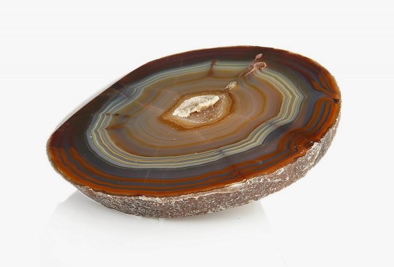 Натуральный бразильский агат. Фото: www.mysticalrockny.com