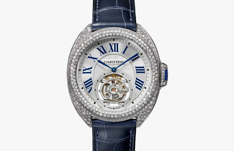 Часы Clé de Cartier Flying Tourbillon