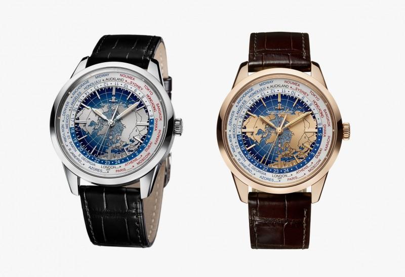 Часы Geophysic Universal Time от Jaeger-LeCoultre в золотом и стальном корпусе.