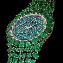 Часы Piccadilly Princess Royal Emerald Green с 245 изумрудами