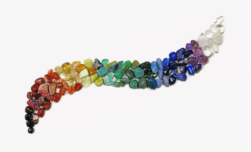 Полудрагоценные камни. Литотерапия