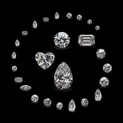 26 бриллиантов, полученных из алмаза Lesotho Promise
